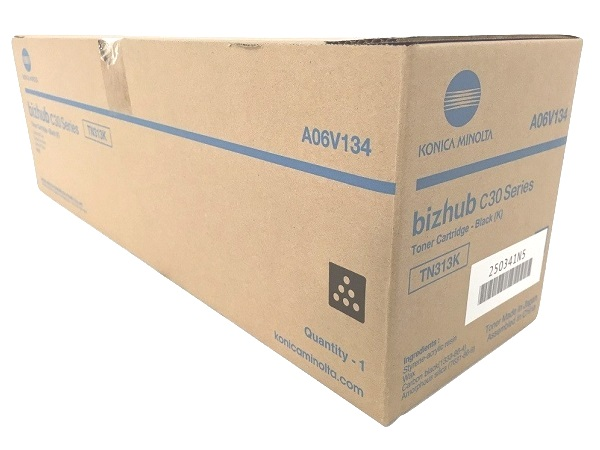 Konica Minolta A06V134 (TN313K) Black Toner Cartridge