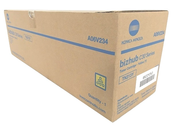 Konica Minolta A06V234 (TN313Y) Yellow Toner Cartridge