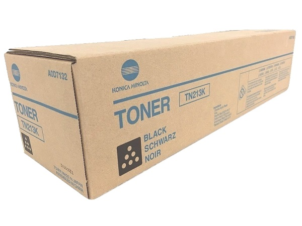 Konica Minolta A0D7132 (TN213K) Black Toner Cartridge