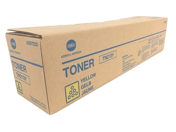 Konica Minolta A0D7232 (TN213Y) Yellow Toner Cartridge