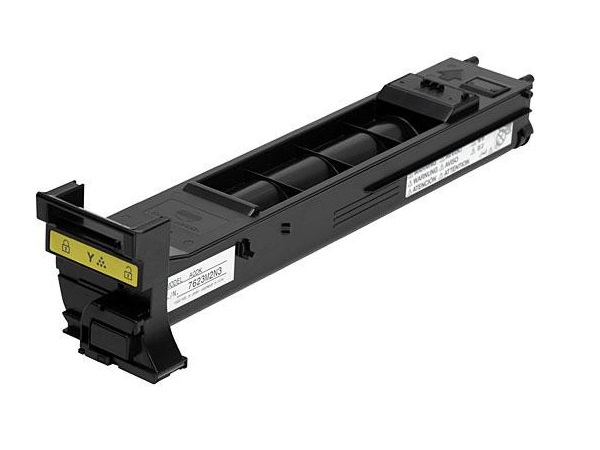 Konica Minolta A0DK231 Yellow Toner Cartridge - Standard Yield