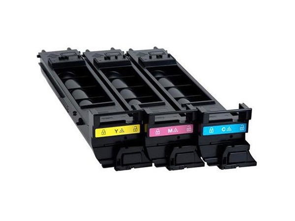 Konica Minolta A0DKJ32 Toner Cartridge - Value Kit - C,M,Y, A0DKJ32
