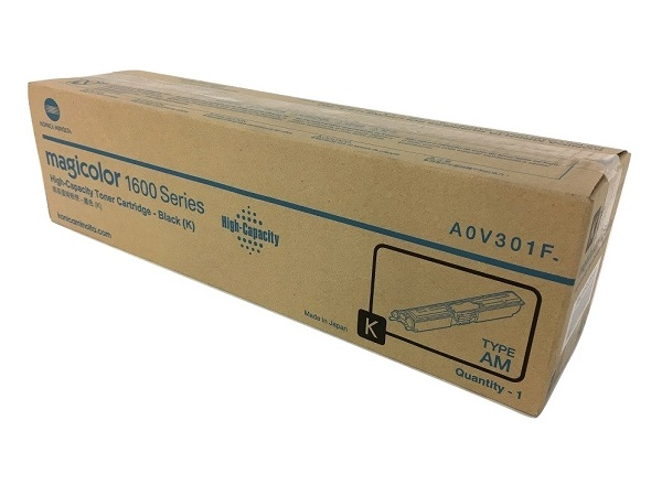 Konica Minolta A0V301F Black High Yield Toner Cartridge