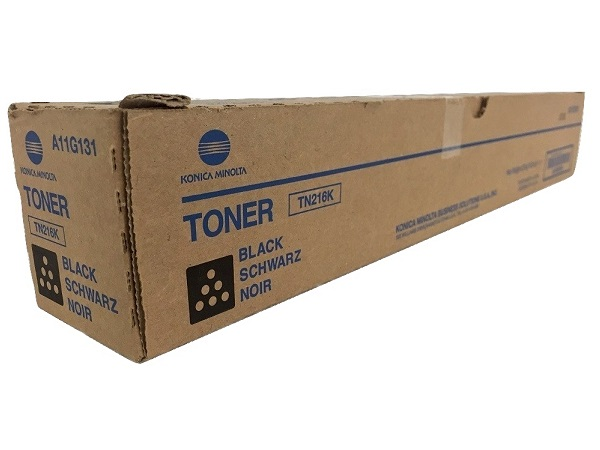 Konica Minolta A11G131 (TN216K) Black Toner Cartridge