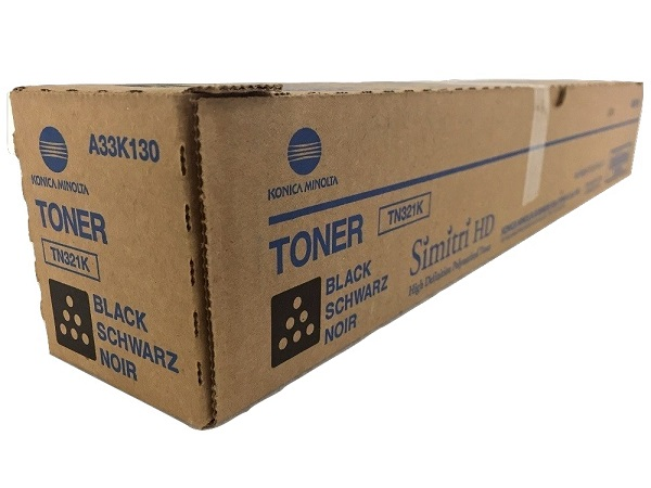 Konica Minolta A33K130 (TN321K) Black Toner Cartridge