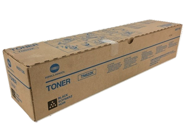 Konica Minolta TN-622K (A5E7130) Black Toner Cartridge