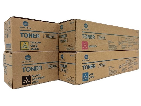 Konica Minolta Bizhub TN210 Toner Cartridge Set