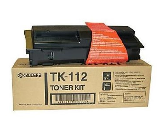 Kyocera TK-112 (TK112) Black Toner Cartridge