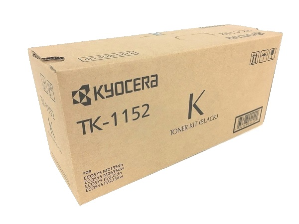 Kyocera TK-1152 (1T02RV0US0) Black Toner Cartridge