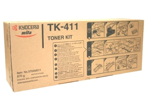 Kyocera / Copystar TK-411 (TK413) Black Toner Cartridge