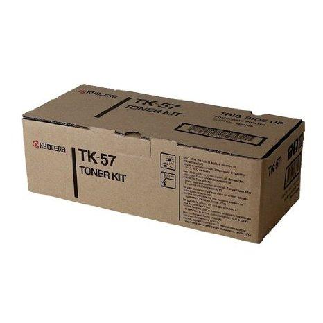 kyocera tk 57 tk57 black toner cartridge. Black Bedroom Furniture Sets. Home Design Ideas