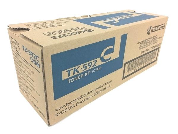 Kyocera TK592C Toner 5 000 Page-Yield Cyan