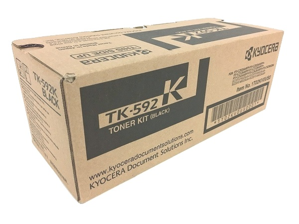 Kyocera TK-592K (TK592K) Black Toner Cartridge
