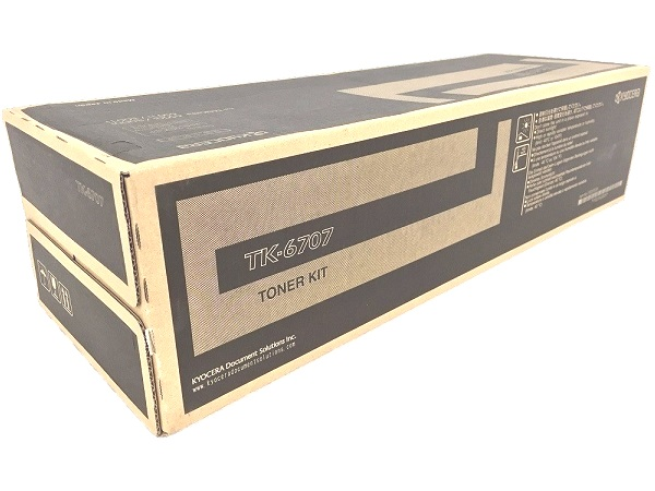 Kyocera TK-6707 (TK6707) Black Toner Cartridge