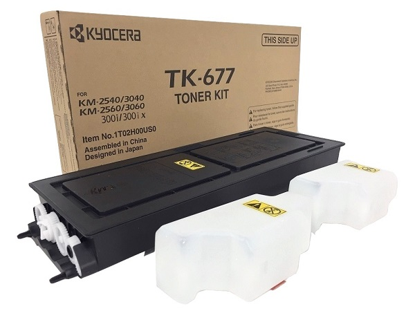 Kyocera TK-677 (TK677) Black Toner Cartridge
