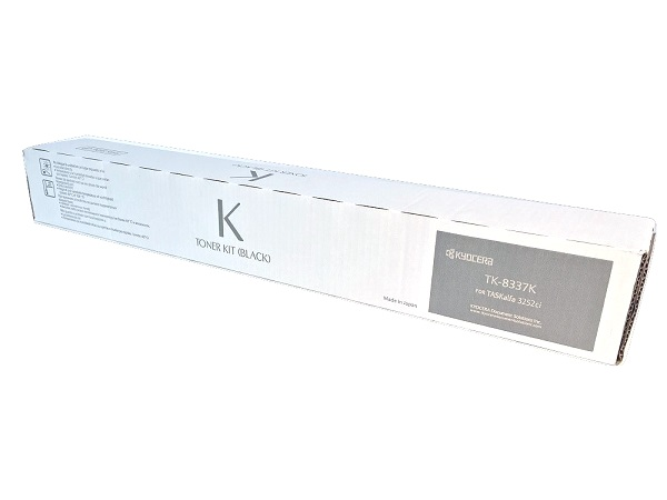 Kyocera TK-8337K (1T02RL0US0) Black Toner Cartridge