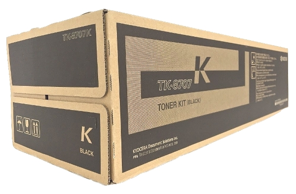 Kyocera TK-8707K (TK8707K) Black Toner Cartridge