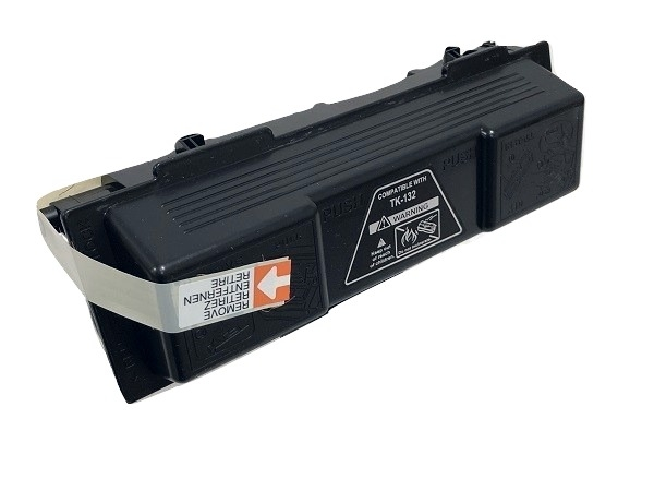 Compatible Kyocera TK-132 (TK132) Black Toner Cartridge - High Yield