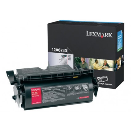 Lexmark 12A6730 (12A6735) Black Toner Cartridge