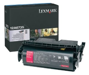 Lexmark 12A6735 Black Toner Cartridge - High Capacity
