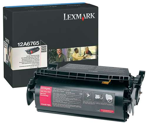 Lexmark 12A6765 Black High Capacity Toner Cartridge