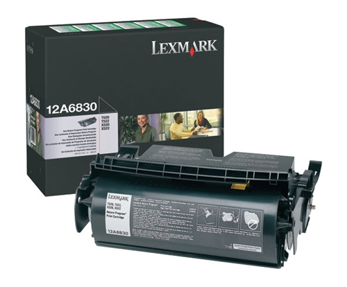 Lexmark 12A6730 Black Toner Cartridge - High Capacity