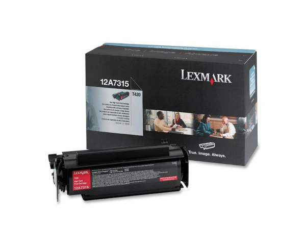 Lexmark 12A7315 Black High Capacity Toner Cartridge