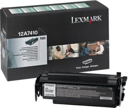 Lexmark 12A7410 Black Toner Cartridge Return Program