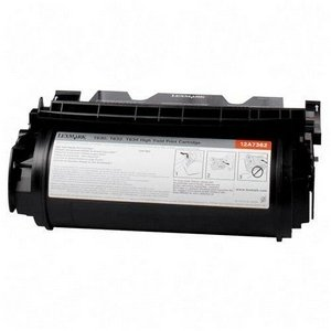 Compatible Lexmark 12A7468 (12A7460) Black Toner Cartridge - Extra High Capacity