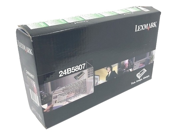 Lexmark 24B5807 Black High Yield Toner Cartridge