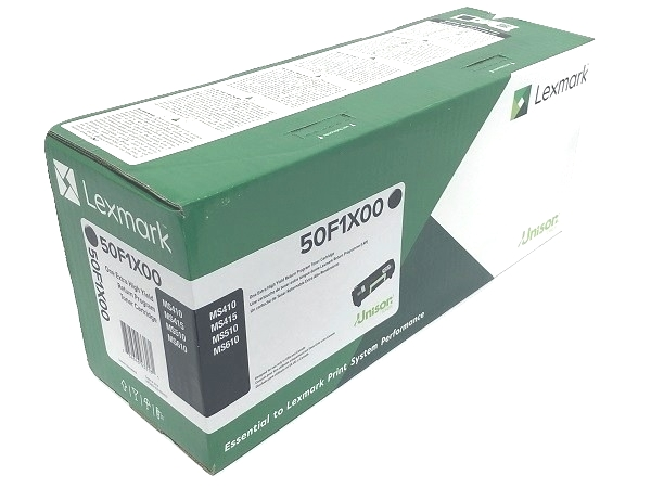 Lexmark 50F1X00 (501X) Black Extra High Yield Toner Cartridge