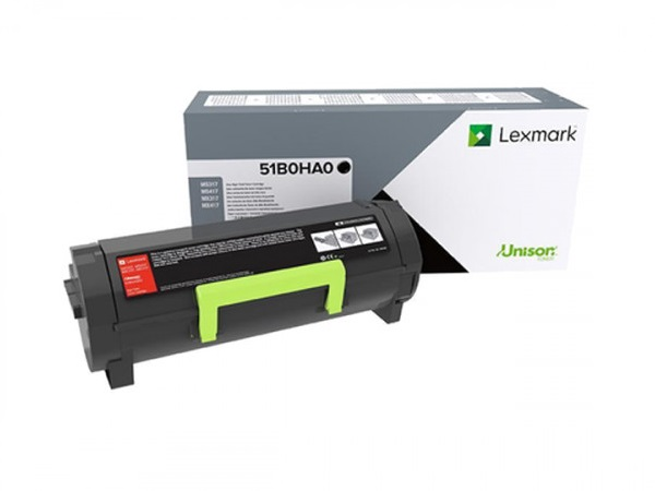 Lexmark 51B0HA0 High-Yield Return Program Black Toner Cartridge