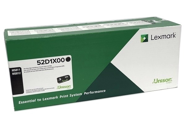Lexmark 521X (52D1X00) Black Extra High Yield Toner Cartridge