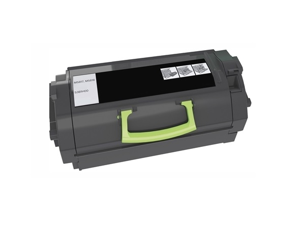 Compatible Lexmark 53B1H00 High Yield Black Toner Cartridge