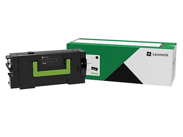 Lexmark 58D1H00 Black High Yield Toner Cartridge