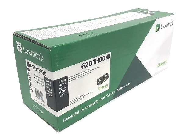 Lexmark 62D1H00 (621H) Black High Yield Toner Cartridge