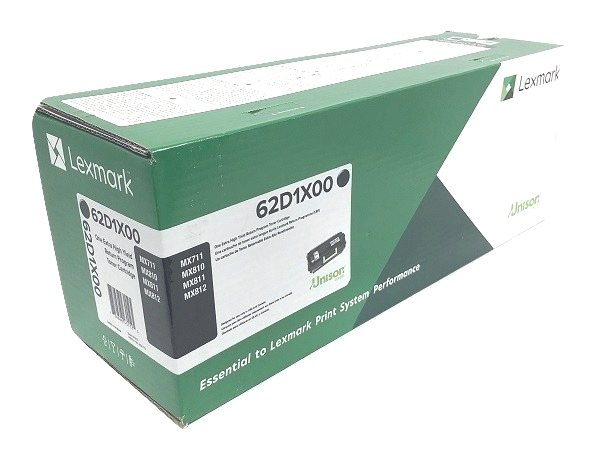 Lexmark 62D1X00 (621X) Black Extra High Yield Return Program Toner Cartridge