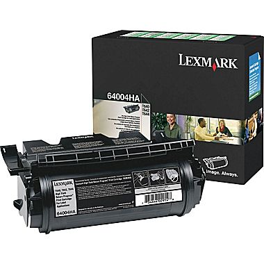 Lexmark 64004HA Black Toner Cartridge - High Capacity