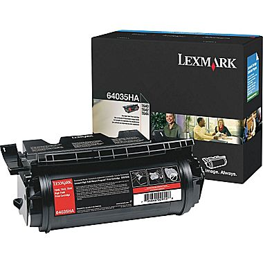 Lexmark 64035HA Black Toner Cartridge - High Capacity
