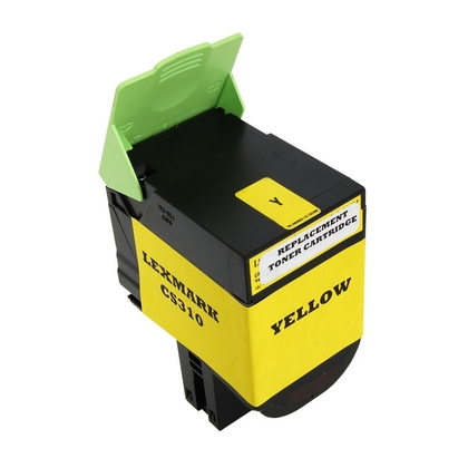 Compatible Lexmark 70C1HY0 (701HY) Yellow High Yield Toner Cartridge