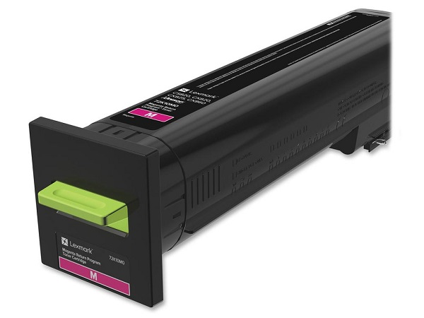 Lexmark 72K10M0 Magenta Return Program Toner Cartridge