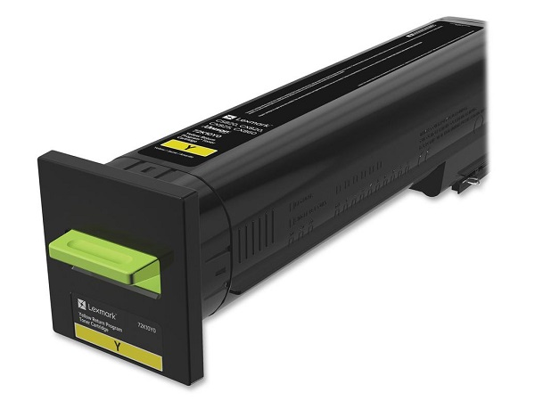 Lexmark 72K10Y0 Yellow Return Program Toner Cartridge