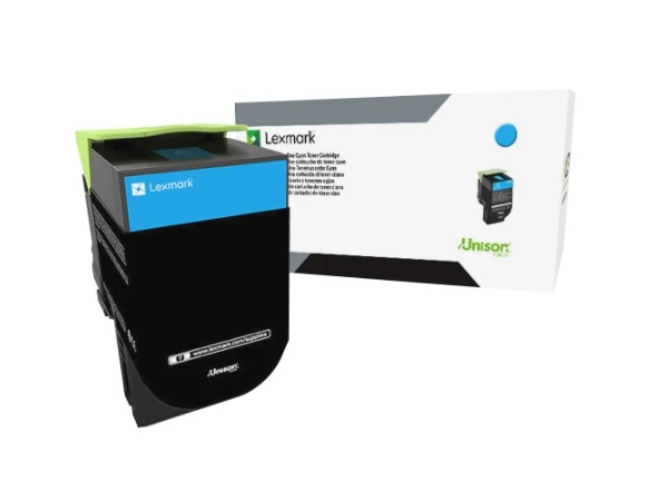 Lexmark 80C0S20 Cyan Toner Cartridge