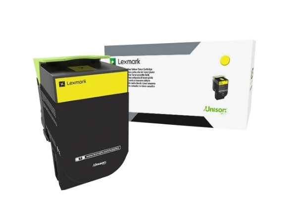 Lexmark 80C0S40 Yellow Toner Cartridge