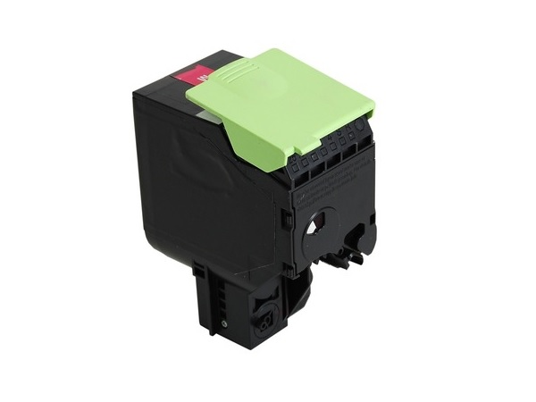 Compatible Lexmark 80C1HM0 Magenta High Yield Toner Cartridge