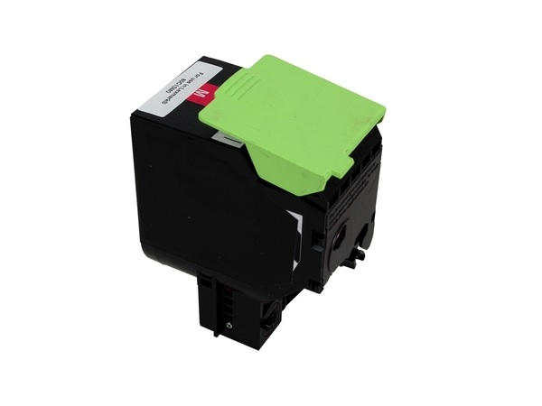 Compatible Lexmark 80C1SM0 Magenta Toner Cartridge