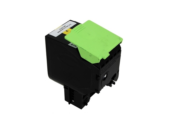 Compatible Lexmark 80C1SY0 Yellow Toner Cartridge