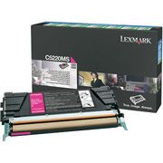 Lexmark C5220MS Magenta Toner Cartridge - Return Program