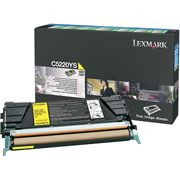 Lexmark C5220YS Yellow Toner Cartridge - Return Program