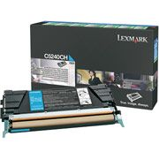 Lexmark C5240CH Cyan Toner Cartridge High Capacity Return Program
